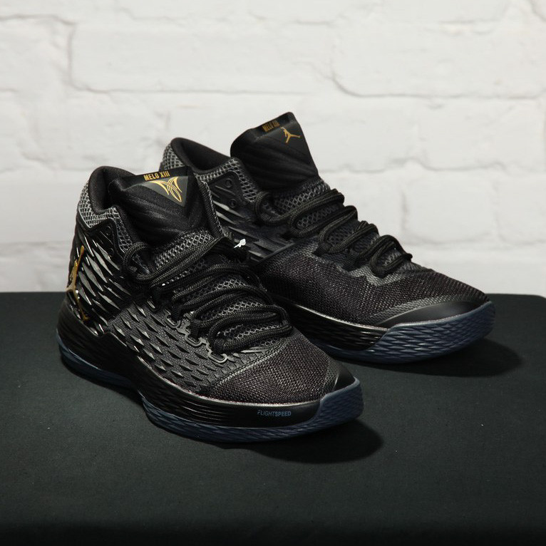 Nike Air Jordan Melo M13 black (реплика)