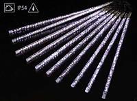 Светодиодные «тающие сосульки», новогодняя гирлянда, 8 трубок, 480 led-диодов, мощность 57 вт, питание 220в
