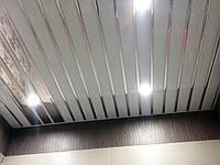 Подвесные алюминиевые реечные потолки