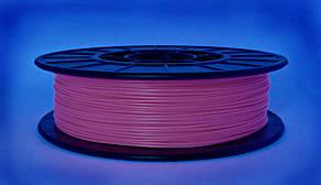 Розовый флюр (светоотражающий) ABS-X (1.75 мм/0.5 кг)