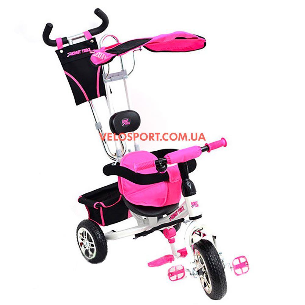 Детский трехколесный велосипед Azimut Trike BC-15B розовый