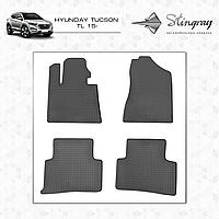 HYUNDAI TUCSON TL 2015- Комплект из 4-х ковриков