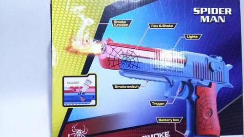 Пистолет с дымом Человека Паука