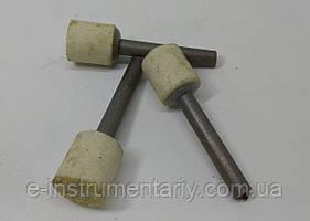 Головка шлифовальная цилиндрическая 15х15х6 25а - белый электрокорунд