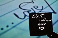 """Деревянный светильник, ночник """"Love..."""" - декор для дома, подарок любимому человеку"""