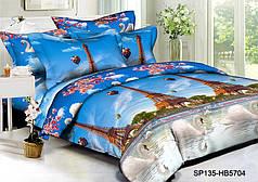!!! АКЦИЯ НЕСТАНДАРТ !!! Ткань для постельного белья Полисатин 135 SP135-HB5704 (54м)