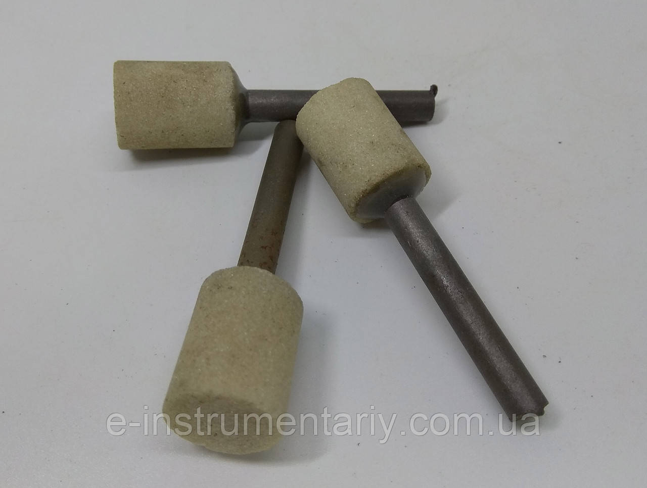 Головка шлифовальная цилиндрическая 15х20х6 25а - белый электрокорунд