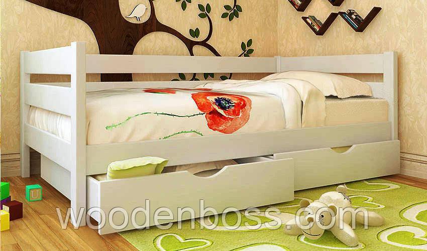 """Кровать детская подростковая от """"Wooden Boss"""" Амели (спальное место 80х160)"""