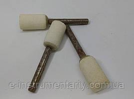 Головка шлифовальная цилиндрическая 15х25х6 25а - белый электрокорунд