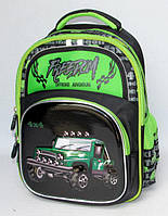 Школьный рюкзак 891317 зеленый