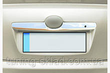 Хром накладка над номером Toyota Camry 2007-2013 (Тойота Кемрі)