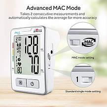 Тонометр автоматический измеритель артериального давления и пульса с LCD экраном, фото 3