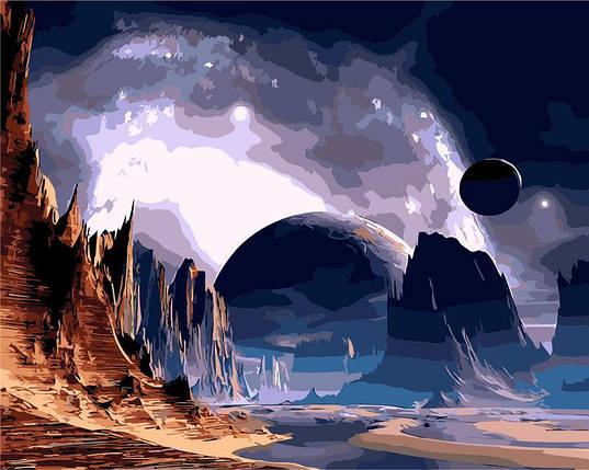 AS0264 Набор-раскраска по номерам Далекая планета, фото 2