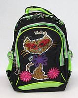 Небольшой школьный рюкзак WeiDeli JM1572 черный
