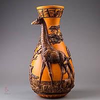 Декоративная ваза Veronese Жираф 44 см 76271VA