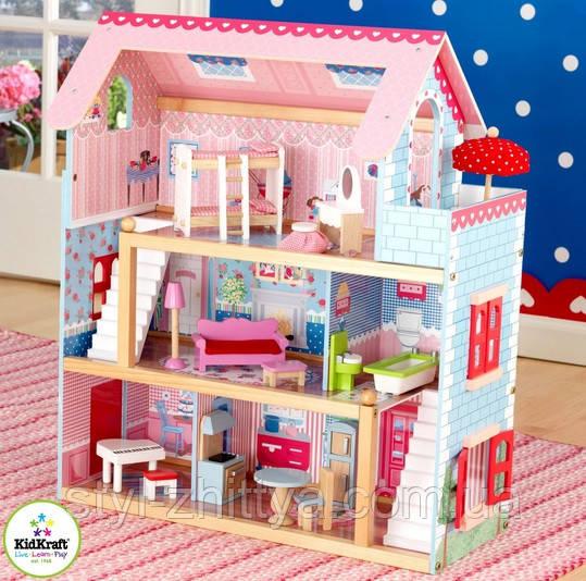Будиночок-котедж для ляльок KidKraft CHELSEA DOLL