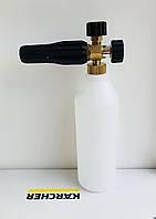 Пенная насадка Idrobase 1л (Италия) Латунь для Karcher HD-серии, фото 1