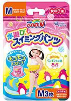 Трусики-подгузники для плавания GOO.N для девочек 7-12 кг, ростом 60-80 см размер M, 3 шт (853465)
