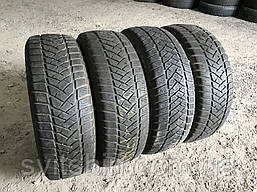 Шины бу зима 215/65R16C Dunlop SP LT60-6 (4,5-5мм) 4шт
