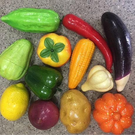 Набор искусственных овощей. Муляжи овощей., фото 2