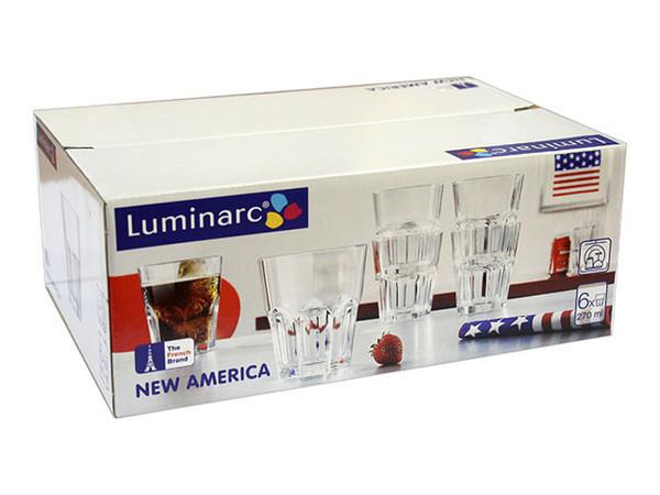 New America Набор стаканов низких 270 мл Luminarc J2890