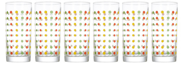 Amsterdam Color Art Набор стаканов 6 шт 270 мл Luminarc N0033