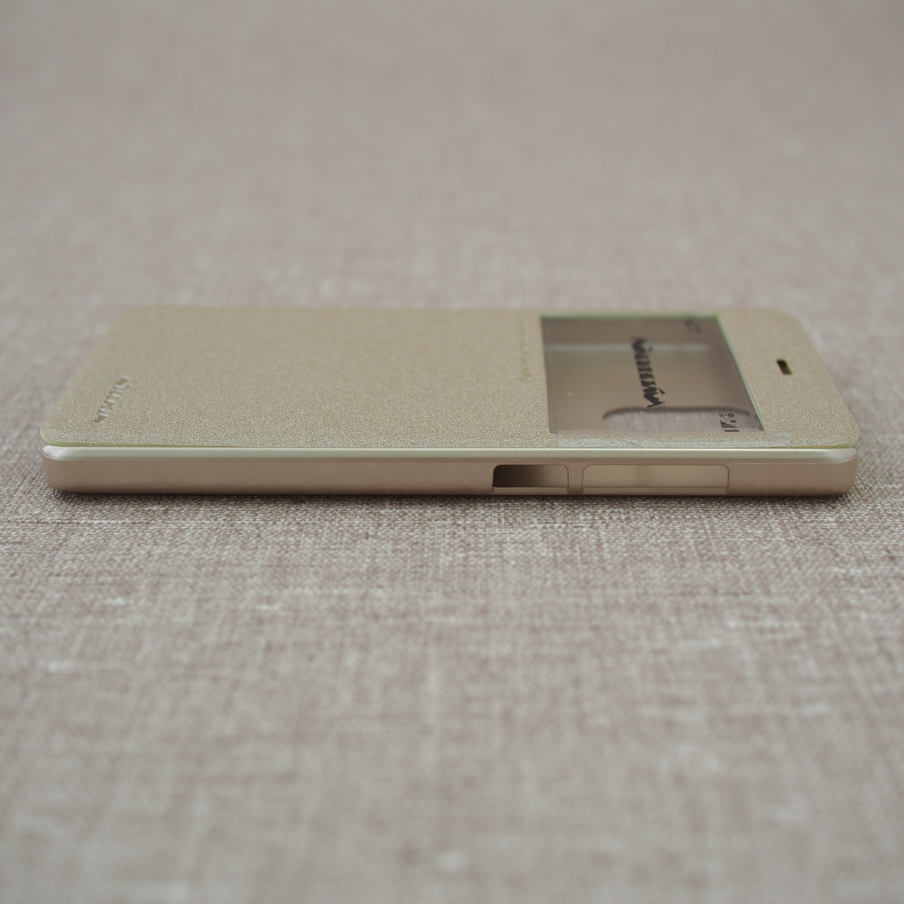 Чехлы для Xiaomi Redmi 4 Pro / Prime Nillkin Sparkle gold