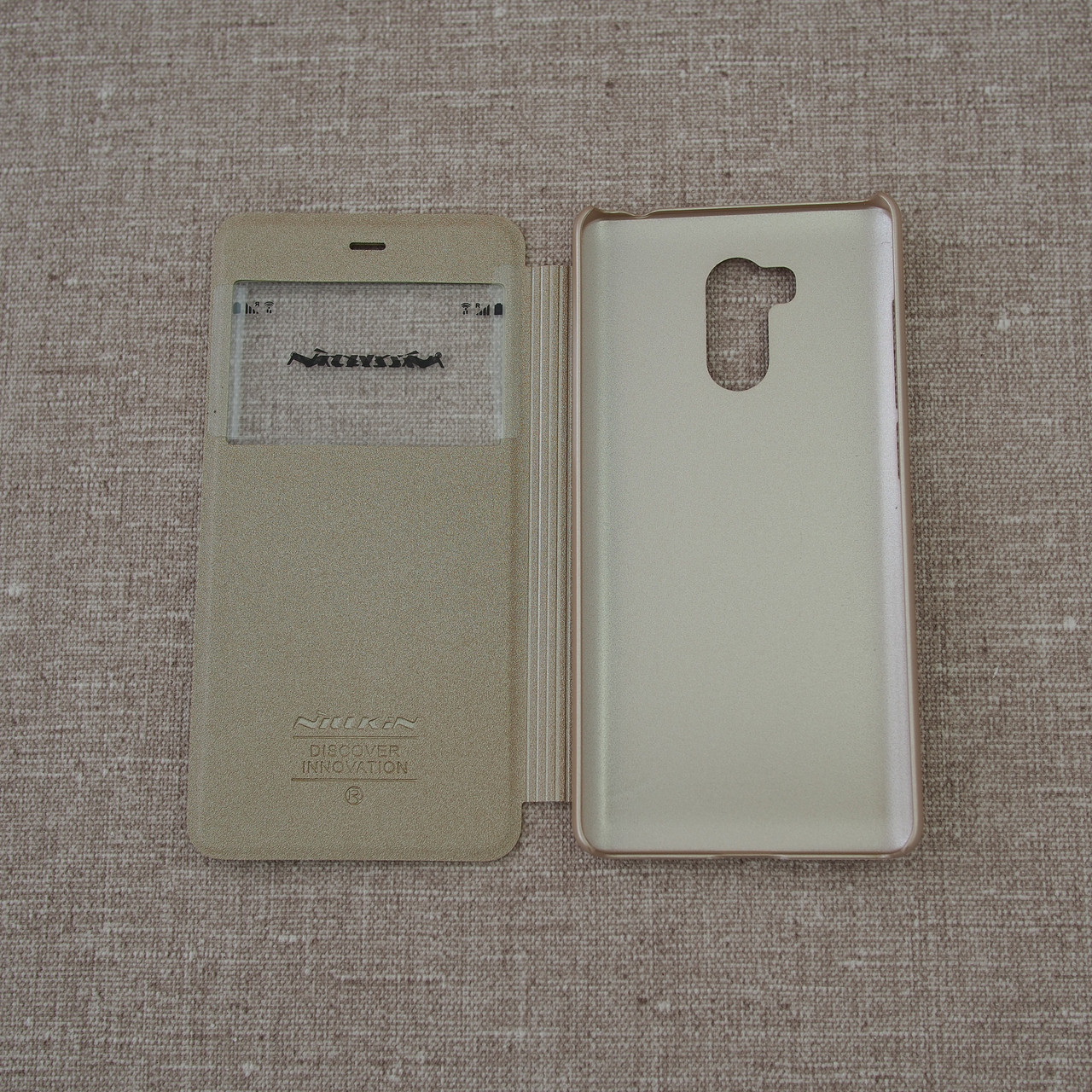 Чехол Nillkin Sparkle Xiaomi Redmi 4 Pro gold