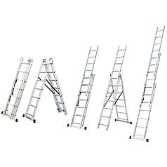 Лестница Sigma раскладывающаяся универсальная 10ступенек(5032344)