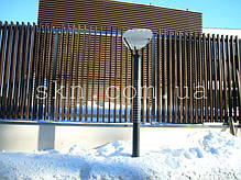 Забор из Термоясеня, фото 3