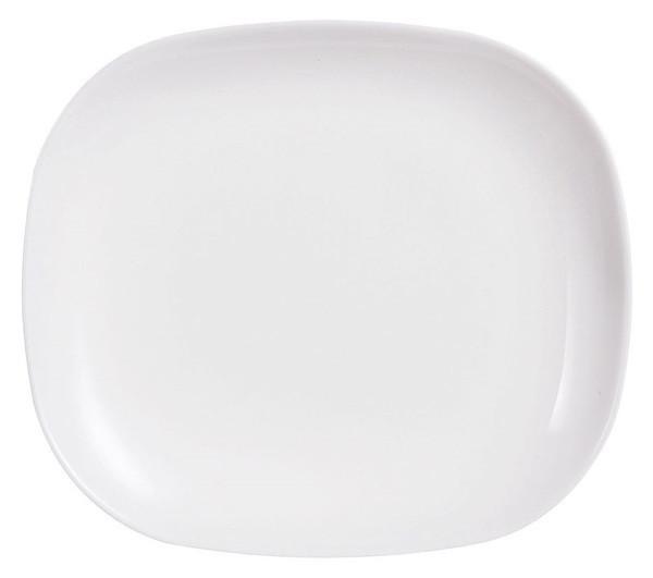 Sweet Line White тарелка обеденная 28*23 см Luminarc J0587