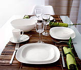 Sweet Line White тарелка обеденная 28*23 см Luminarc J0587, фото 2