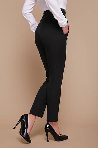 Офисные классические женские черные брюки со стрелками Бенжи, фото 2