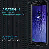 Защитное стекло Nillkin Samsung Galaxy J4 J400 (Amazing H) (Самсунг Джей Джи 4 2018)