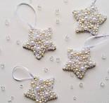 Бусины жемчужные малые белого цвета, 100 шт, размер 5 мм, фото 10