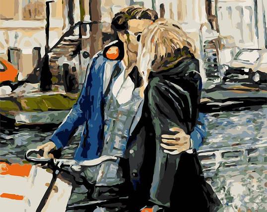 AS0285 Набор-раскраска по номерам Свидание на набережной, фото 2