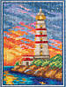 Набор для вышивания крестом GM-1826 Крымский маяк