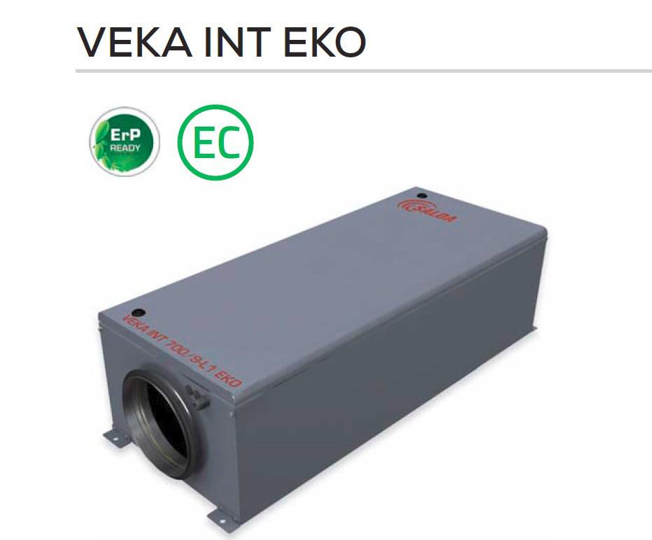 Приточная установка SALDA VEKA INT 3000-15,0 L1