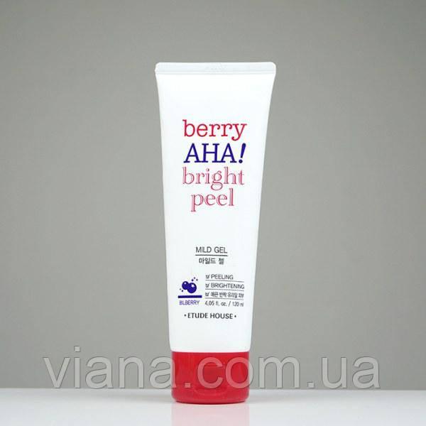 Мягкий пилинг-гель для сияния кожи ETUDE HOUSE Berry AHA Bright Peel Mild 120 мл