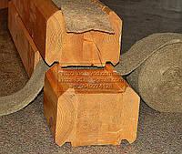 Межвенцовый утеплитель для деревянного дома в ленте джут/лен шир.6 см длина 25 м