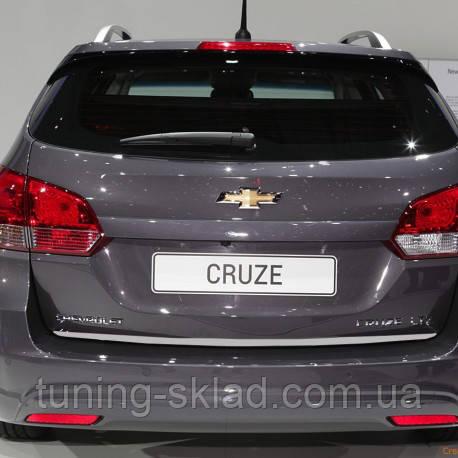 Хром кромка багажника Chevrolet Cruze (Шевроле Круз)