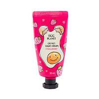 Крем для рук с ароматом клубники DAENG GI MEO RI Egg Planet Hand Cream Stawberry, 30 ml