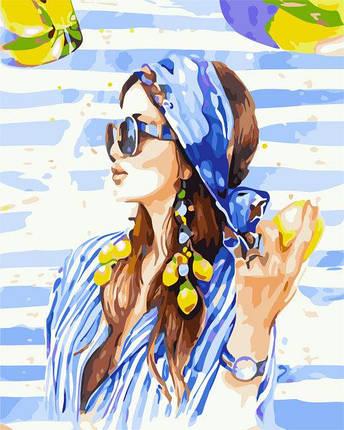 AS0296 Набор-раскраска по номерам Летние краски, фото 2