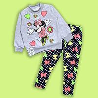 Теплый костюм для девочки 'Mikki' 2,4,6 лет