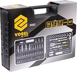 Набір інструменту 94 шт Vorel 58683, фото 2