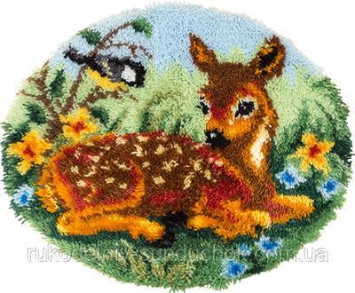 Набор для вышивания крестом KI-1883 Коврик Олененок