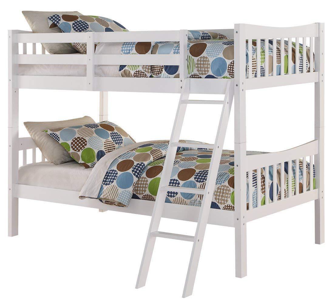 """Двухьярусная кровать из массива дерева """"Жасмин"""" для подростка"""