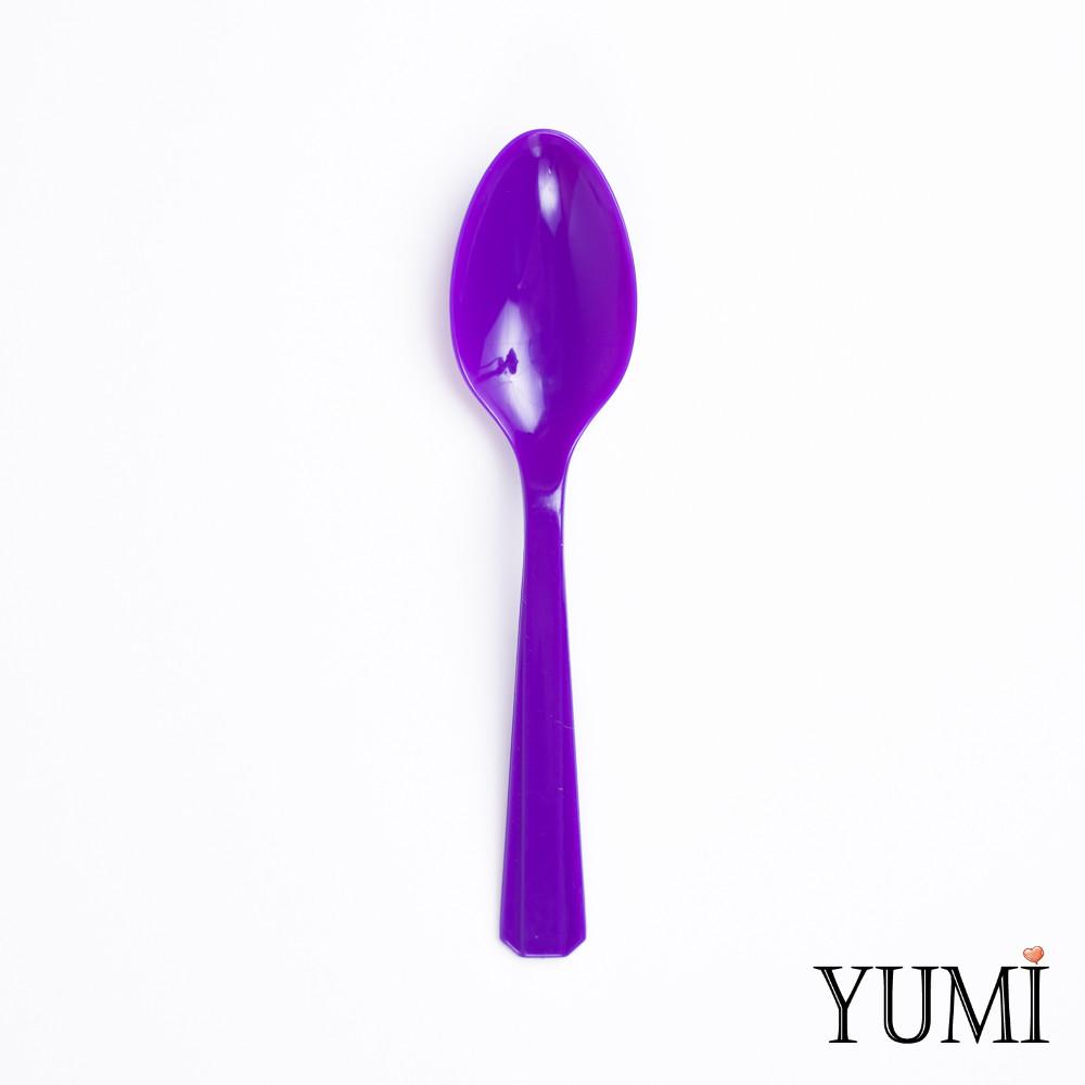 Ложка пластмасова Purple фіолетова 10 шт. Amscan