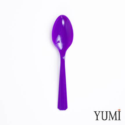 Ложка пластмасова Purple фіолетова 10 шт. Amscan, фото 2
