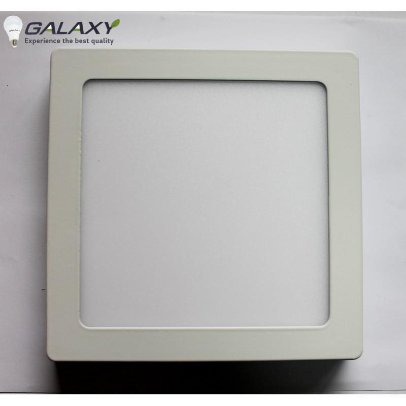 Светильник LED квадратный белый 15 Вт накладной металл GALAXY LED
